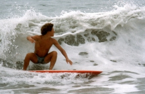 Tommy Surfing